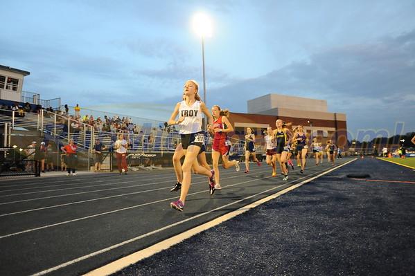 Girls' 3200 Meter Run - 2016 Oakland County T&F