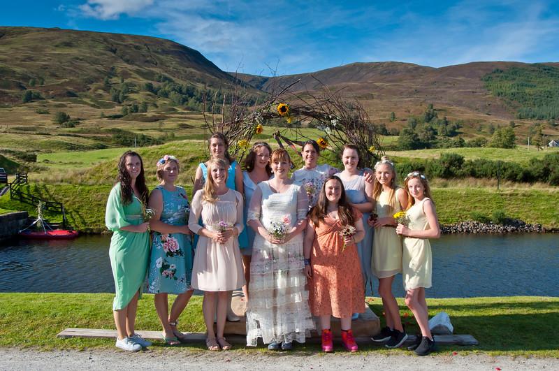Autumn Wedding in the Scottish Highlands