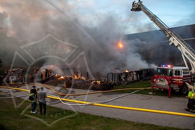 Multi Alarm Building Fire - Wrights Mill 156 Creasy Road, Canterbury, CT - 5/18/16