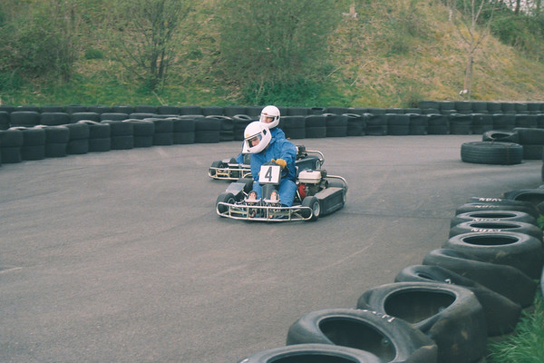 Karting Castle Combe 2001