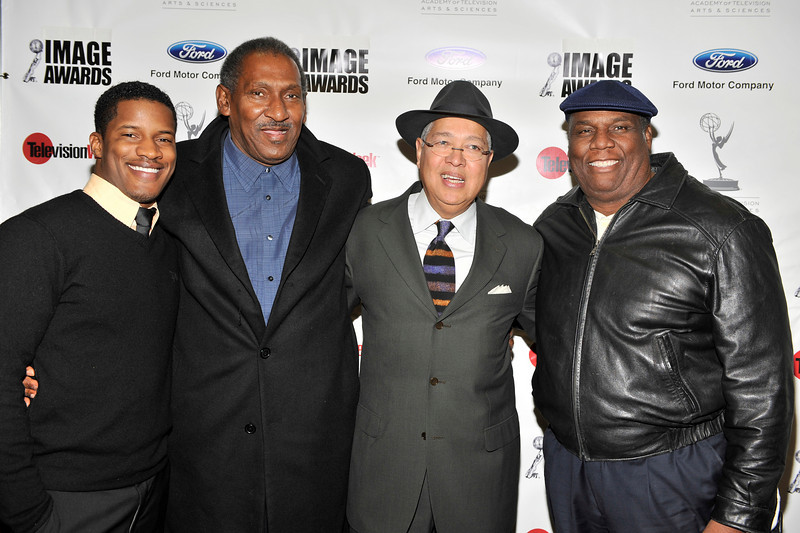 FORD MOTOR COMPANY SPONSORS 5TH ANNUAL NAACP IMAGE AWARDS HOLLYWOOD SYMPOSIUM HELD AT THE ACADEMY OF TELEVISION ARTS & SCIENCES AT THE GOLDENSON THEATRE IN NORTH HOLLYWOOD CALIFORNIA ON FEBRUARY 9, 2009NATE PARKER, WILLIS EDWARDS, BERNARD KINSEY, AND RON HASSON