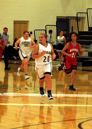 Basketball Freshman Girls vs Maricopa 12/8/2009