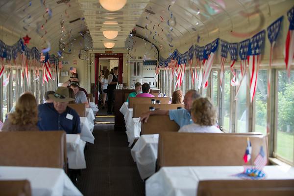 Railroad ride on the Texas State Railroad