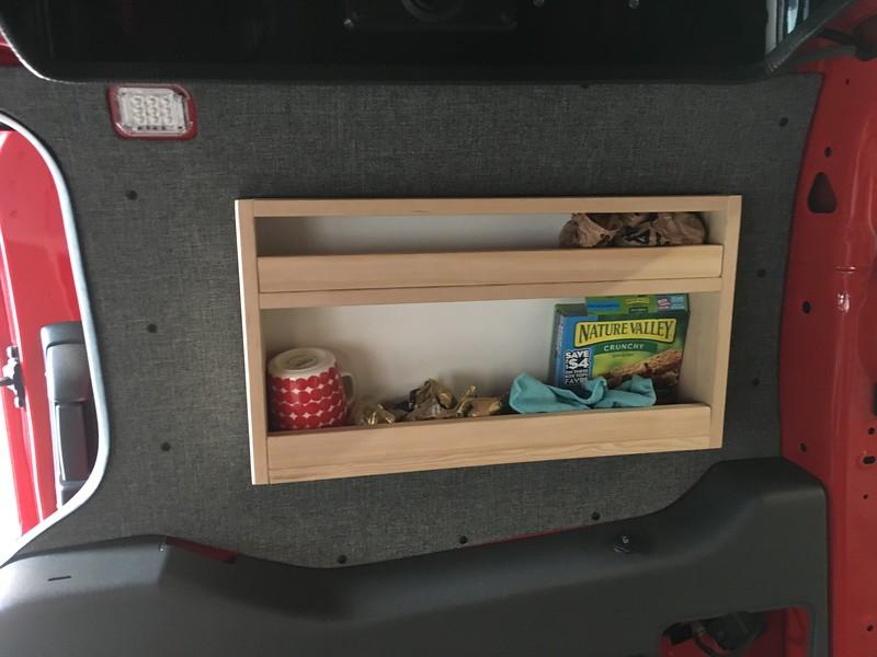 Rear Quarter Shelf