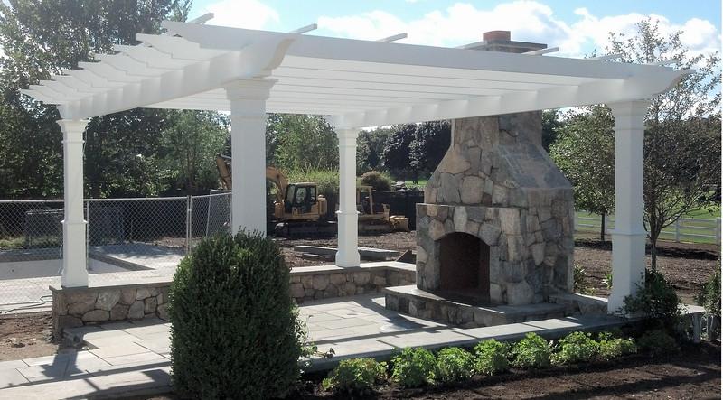 538 - 405505 - Rye NY - Special Square Post Pergola