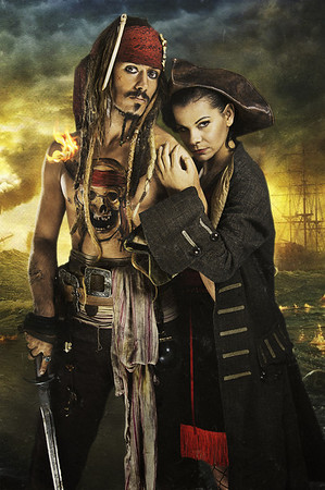 Simon Newton: Jack Sparrow Lookalike