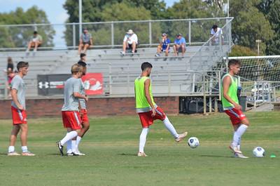 Men's soccer vs VMI