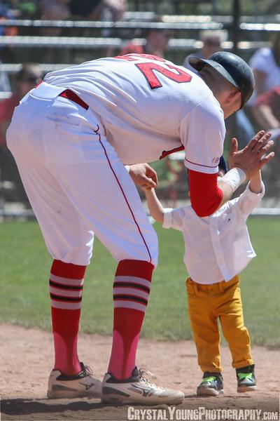 Brantford Red Sox vs. Hamilton Cardinals 2018 Intercounty Baseball League Season Opener May 13, 2018
