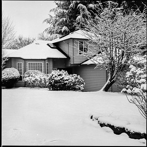 2018 January - Snow At Home and Near the Boatyard