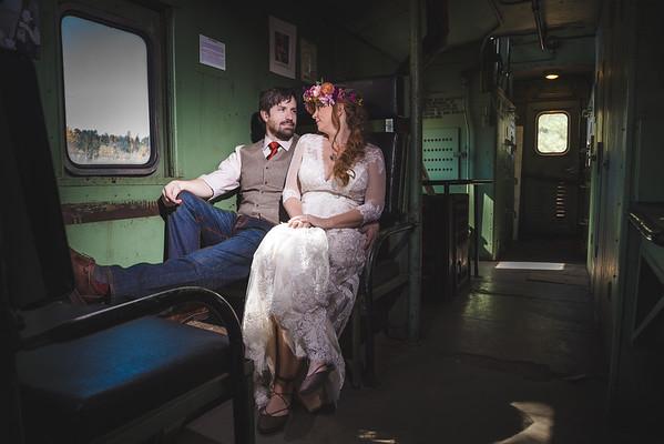Rodney and Sarah   Hart Prairie Wedding   Weatherford Hotel
