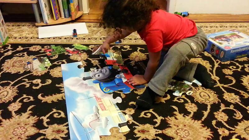 Preston's puzzle skills at his best