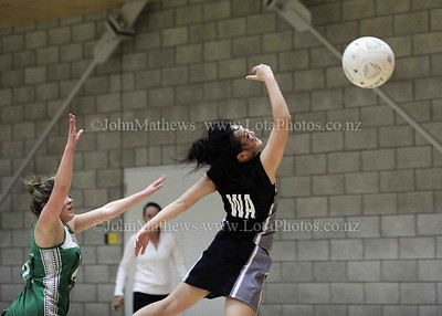 May 12 - Netball Regional Div 3 Final - HVHS v Taita