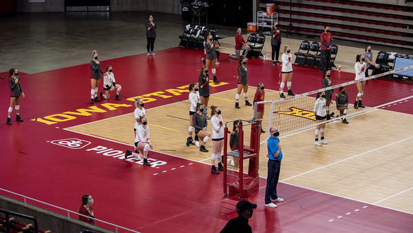 ISU Volleyball Cardinal&Gold Scrimmage 09/19/20