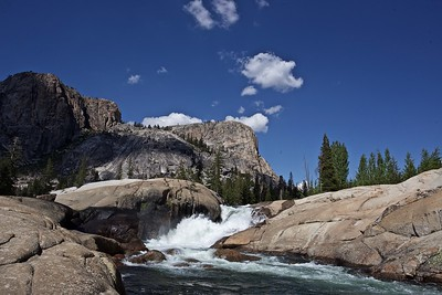 Tuolumne River and McCabe Lakes Region
