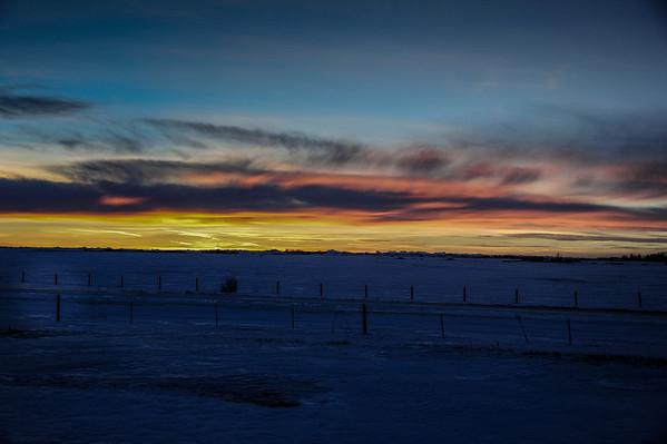 1-16-14 Prairie Sunset