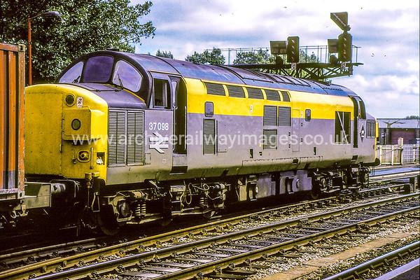 Class 37 Diesel Locomotives