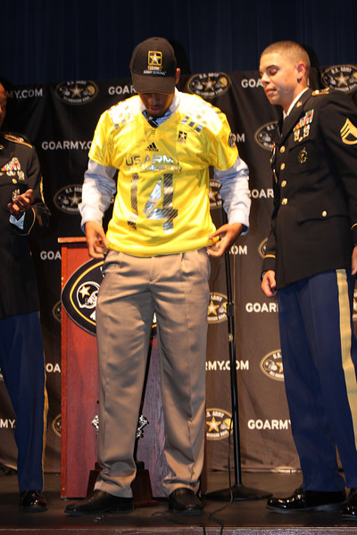 Timberview Football DBs selected for 2014 Army All-American Bowl