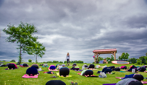 Roc Yoga In the Park Grand Opening 140614