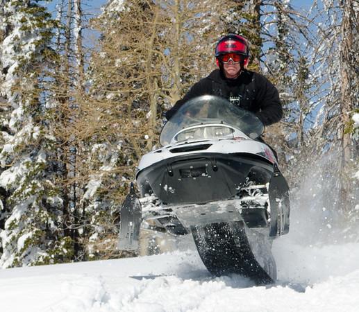 Utah Skiing / Snowmobile