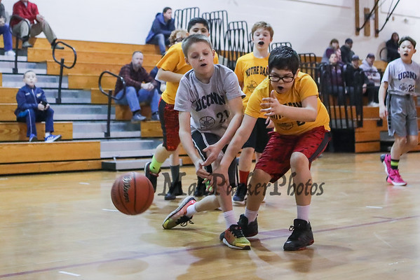 2019-2-6 HYA 5th-6th Coed Basketball UCONN vs Notre Dame