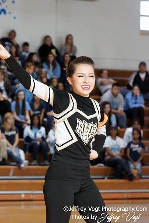 01-07-2012 Poolesville HS Poms Competition at Damascus HS, Photos by Jeffrey Vogt Photography