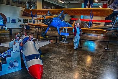 2013.05.18 - Air Museum & Grandkids
