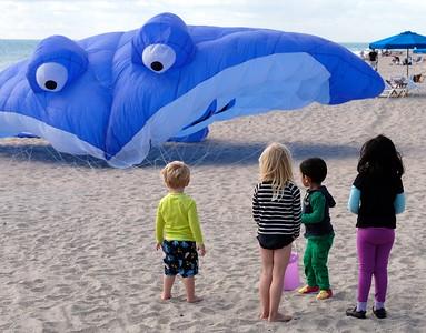 Kite Day on Boynton's Beach!