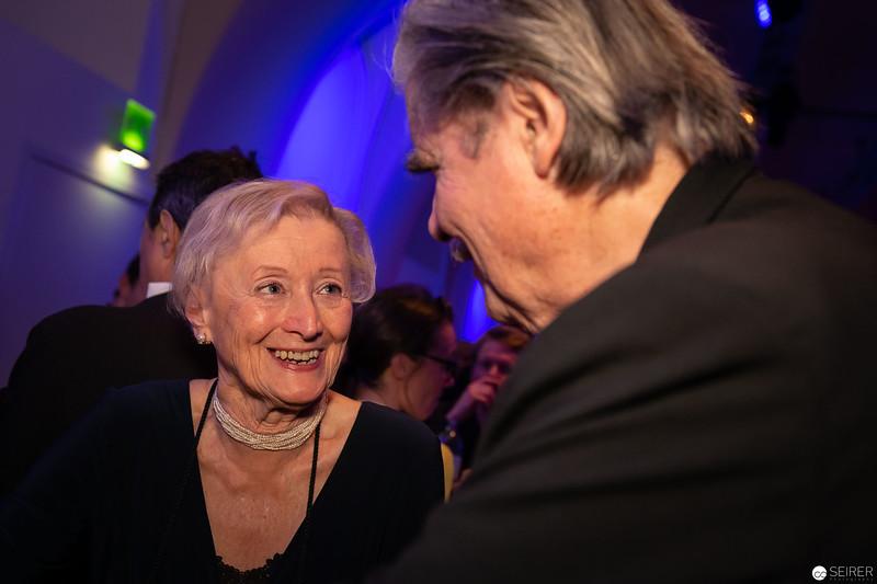 Karin Kathrein, Peter Simonischek - Nestroy 2018 After-Show-Party