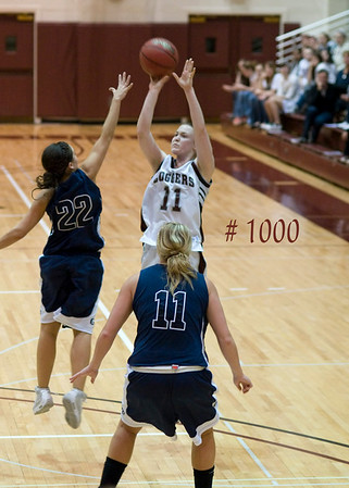 Claire Ely's 1000th Point Scored at Home against George Fox, January 29, 2010
