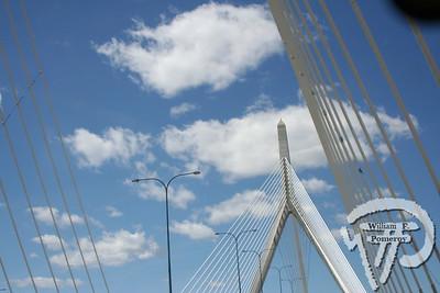 Leonard P. Zakim</br>Bunker Hill Bridge</br>I-93 NORTH