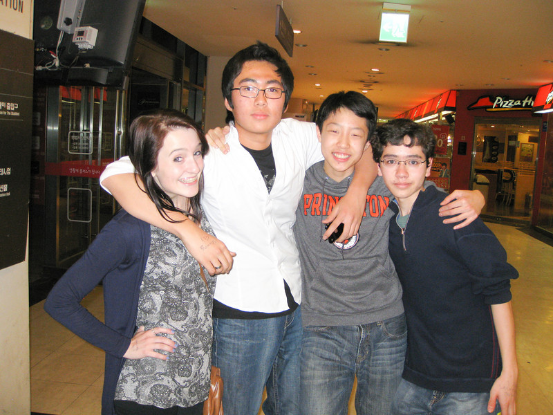 Youth group from Seoul Foreign school
