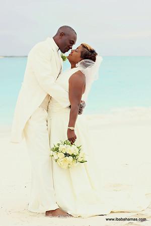 Garfield & Carolyn| Bahamas Wedding | Catch-a-Fire Sunset Bar & Grill | Great Exuma, Bahamas