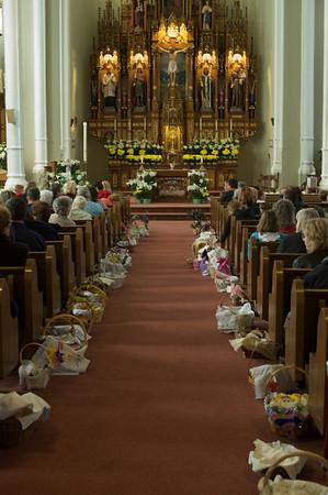 Easter Basket Blessing, 2009