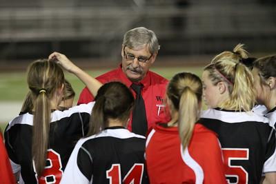 2011-2012 Williams Field Girls Soccer vs Campo Verde 11-29-11