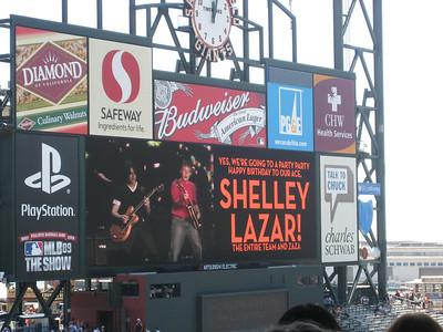 Shelley's Birthday LX