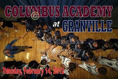 2012 Academy at Granville (02-14-12) VARSITY
