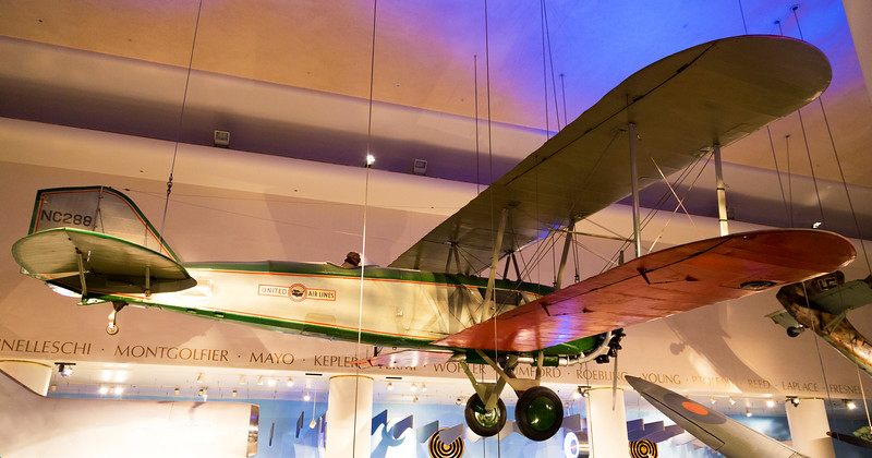 The early Boeing mailplane, the Model 40, from 1925