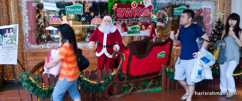 Santa came to Marche, The Curve
