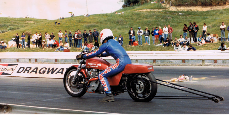 Where it ended. Nationals winner with ET and Top speed records. 9.4 @ 153 mph