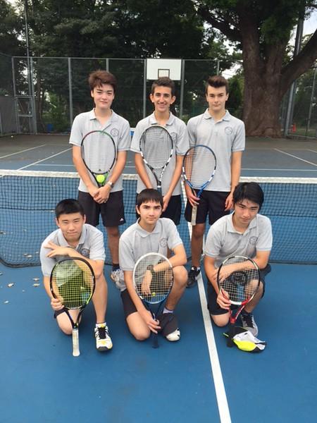 YIS JV Tennis