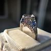 Art Deco Sapphire and Diamond Mounting 15