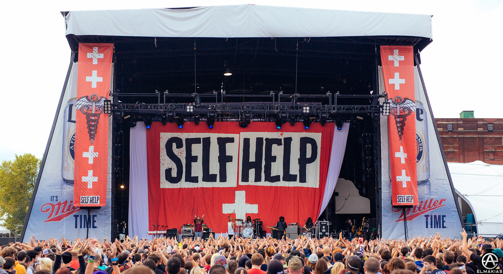 Chiodos live at Self Help by Adam Elmakias