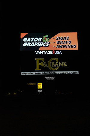 7-7-2019 GATOR GRAPHICS  DEAN WILLE SIGNS