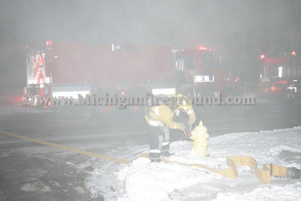 1/1/09 - Mason house fire, 703 S Barnes St