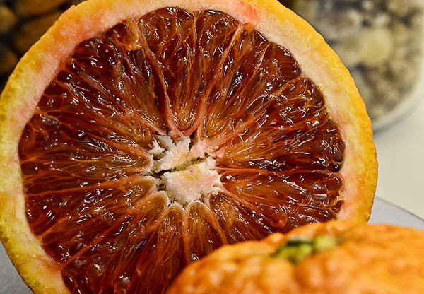 0126 fresh  Blood oranges are in season.  Yum!
