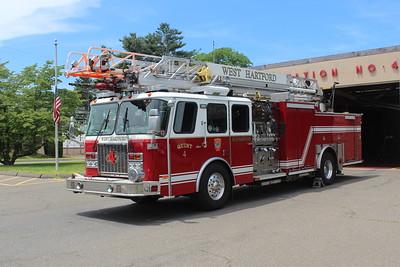 Apparatus Shoot - Quint 4, West Hartford, CT - 6/7/19