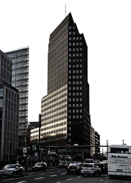 The Kollhof Building, Potsdamer Platz, Berlin.