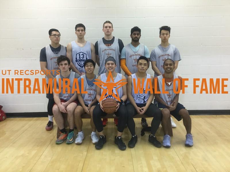 Fall 2017 Basketball Men's B Champion Bigg3r Ball3r Brand