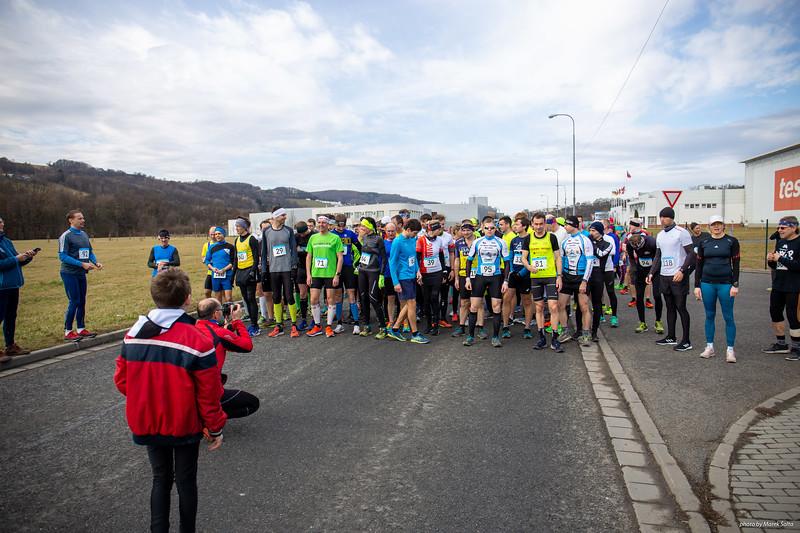 Půl Maraton SCMT Zlín březen 2020