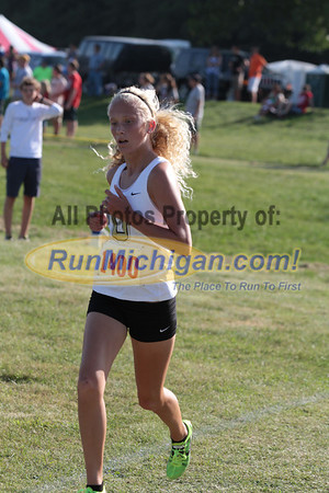 2nd Loop College Women - 2013 Golden Grizzly XC Invite